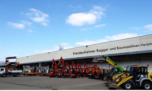 Heidenheimer Baggervermietung Heidenheim
